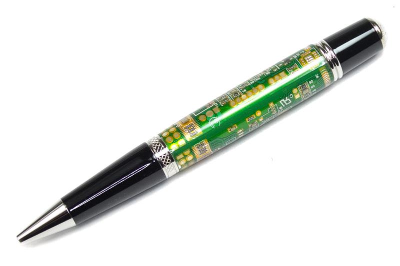 Sierra Vista Green Circuit Board Platinum Pen Kit